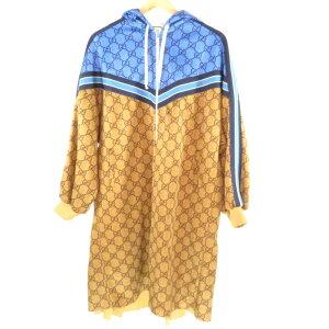 [مستعملة] GUCCI Gucci GG Technical Jersey Jacket M هودي فستان قطعة واحدة 7396