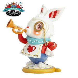 Disney ふしぎの国のアリス White Rabbit【The World of Miss Mindy】 ディズニー ミス・ミンディ 白うさぎ フィギュア 置物 インテリア ギフト プレゼント お祝い カラフル 鮮やか 派手 かわいいEnesco社認定 日本正規総代理店 #6001037