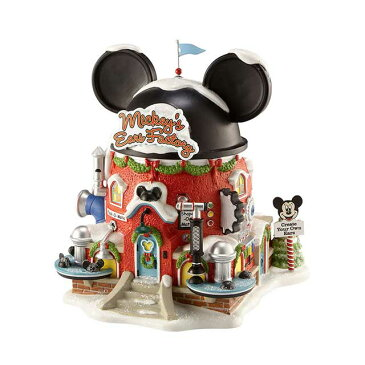 【送料無料】ディズニー ライトハウス Mickey's Ears Factory 【Department56】クリスマス Christmas Xmas Disney ミッキー Mickey フィギュア 家 Light House 置物 オブジェ 人形 プレゼント ギフト インテリア 装飾 飾りEnesco社認定 日本正規総代理店