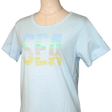 O'neill(オニール)_レディース_半袖Tシャツ【サックス(SAX)】_664526
