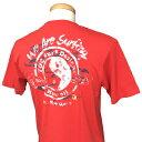 TOWNCOUNTRY(タウン&カントリー)_メンズ_半袖Tシャツ【レッド(RED)】_DM6086