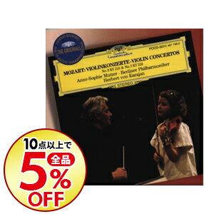 【中古】モーツァルト:ヴァイオリン協奏曲第3番・第5番「トルコ風」 / カラヤン/ムター/ベルリン・フィルハーモニー管弦楽団