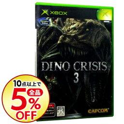 【中古】Xbox ディノ クライシス3