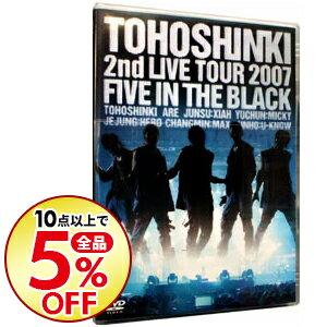 【中古】2nd LIVE TOUR−Five in the Black− / 東方神起【出演】