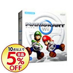 【中古】【全品10倍!10/10限定】Wii 【Wiiハンドル・Wiiハンドル説明書同梱】マリオカートWii