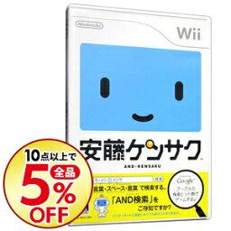 【中古】Wii 安藤ケンサク