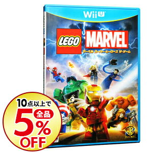 【中古】Wii U LEGO (R) マーベル スーパー・ヒーローズ ザ・ゲーム