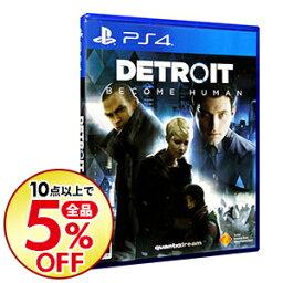 【中古】PS4 Detroit: Become Human
