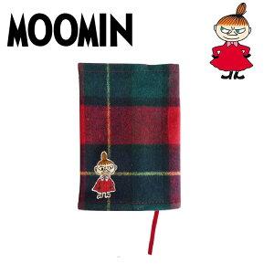 MOOMIN ムーミン ミイ チェック かわいい 刺繍 ブックカバー 文庫ミイ チェックシリーズ ブッ...