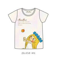 アマールカ レディース Tシャツ 夏 半袖 丈長 キャラクターアマールカ レディース Tシャツ 半...