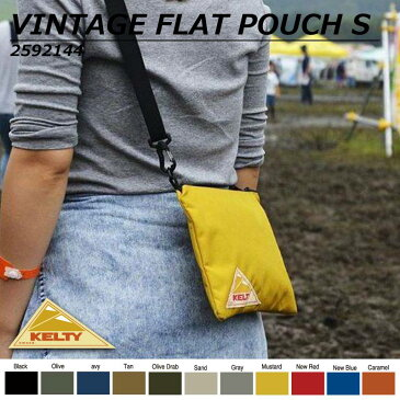 1日限定クーポン配布中 ケルティ サコッシュバッグ レディース メンズ VINTAGE FLAT POUCH Sサイズ ミニ ショルダーバッグ ブランド ポシェット 斜めがけ