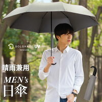 P10倍!日傘 折りたたみ メンズ 完全遮光 ワイド 軽量 晴雨兼用 男性用 uvカット 99.9% UPF50+ 100% 遮光 遮熱 折り畳み かさ 傘 雨傘 高級 おしゃれ 男性 紳士用 グレー 暑さ対策 熱中症対策 ひんやり