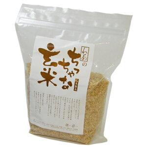 農家さんが苗の段階から農薬不使用で育てた玄米です。ちっちゃな玄米 1.0kg【試しやすい1キロパ...
