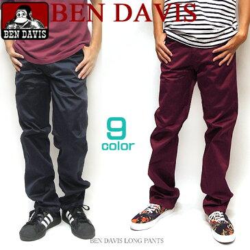 BEN DAVIS パンツ ベンデイビス チノパン★ ベンデービス ロングパンツ。バックのベンデビ ゴリラアイコンタグがポイントの一枚。豊富なカラーバリエーションで登場しました。お気に入りの一色が見つかるボトムス。⇒BEN-695