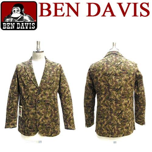 ben davis テーラードジャケット ベンデイビス ミリタリー 迷彩柄 ★ 人気のベンデイヴィスから201...