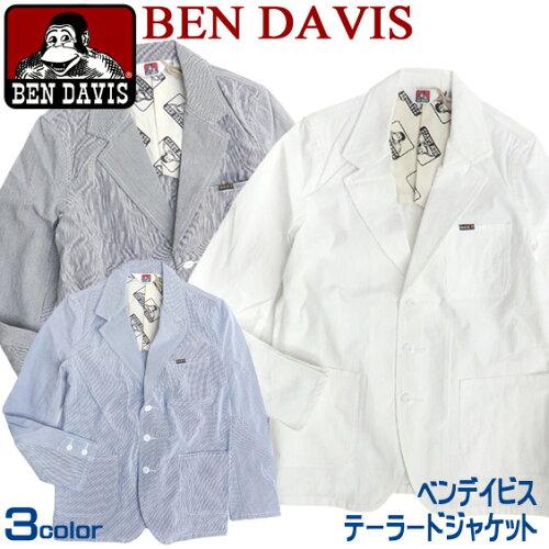 BEN DAVIS ジャケット ベンデイビス テーラードジャケット ★ ベンデービスのカッコいいシルエット...