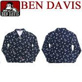 ben davis ジャケット ベンデイビス ジャケット カモメ柄 ★ 話題のカモメ柄で可愛く使える。オシャレな総柄デザインで注目度抜群のベンデービス ジャケットの登場。⇒BEN-098