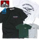 BEN DAVIS 半袖Tシャツ ベンデイビス 飛行機柄Tシャツ ベンデビ 刺繍入りTシャツ アメカジ 半袖 クルーネック ブランドロゴ 刺繍 商品番号 BEN-1164