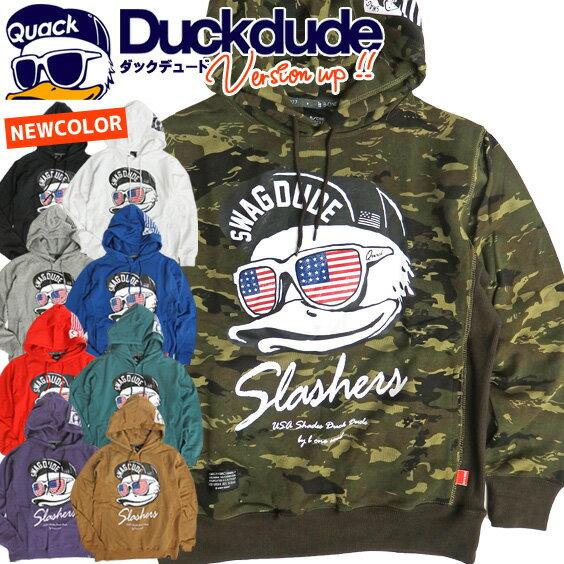 トップス, パーカー DUCK DUDE USA PKL-094