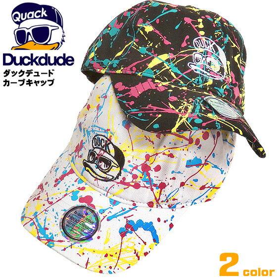 メンズ帽子, キャップ DUCK DUDE LOW CAP DUCK DUDE by b-one-soul CURVE CAP CAP-034