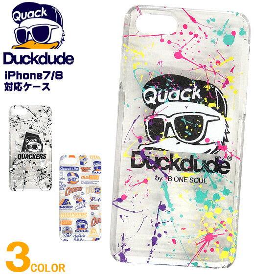 スマートフォン・携帯電話アクセサリー, ケース・カバー DUCK DUDE iPhone iPhone78 8 7 DUCKDUDE bonesoul ACCE-045