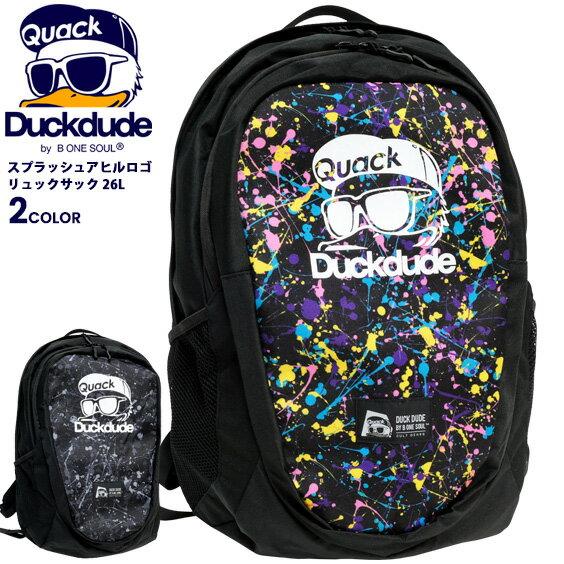 男女兼用バッグ, バックパック・リュック DUCK DUDE 26L PC A4 BAG-087