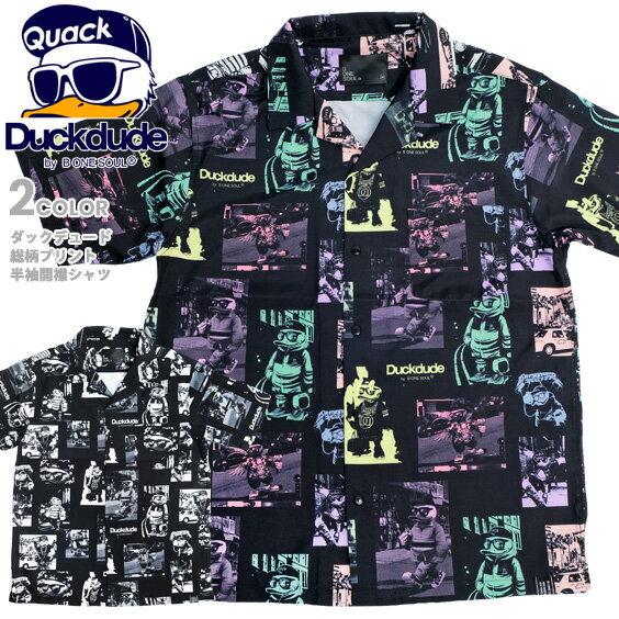 トップス, カジュアルシャツ DUCK DUDE duckdude SYS-001