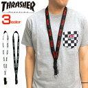 THRASHER ネックストラップ スラッシャー ネックピース ...