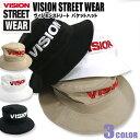 VISION 帽子 VISION STREET WEAR バケットハット ★ ヴィジョンストリートウェア ハット フロントのブランドロゴの刺繍がアクセントが効いていてお洒落。カジュアルに使えるバケットハットが3色展開で登場しました。⇒VISION-307