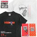 VISION Tシャツ NARUTO Tシャツ コラボ BORUTO キャラクタープリント メンズ キャラT ヴィジョンストリートウェア ナルト サスケ カカシ サクラ ボルト ミツキ プリント VISION STREET WEAR 半袖 トップス VISION-174
