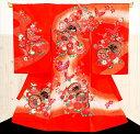 【レンタル】産着レンタル お宮参り お食い初め 赤ちゃん 着物 mj8010 ベビー帽子セット 産着 祝着レン...