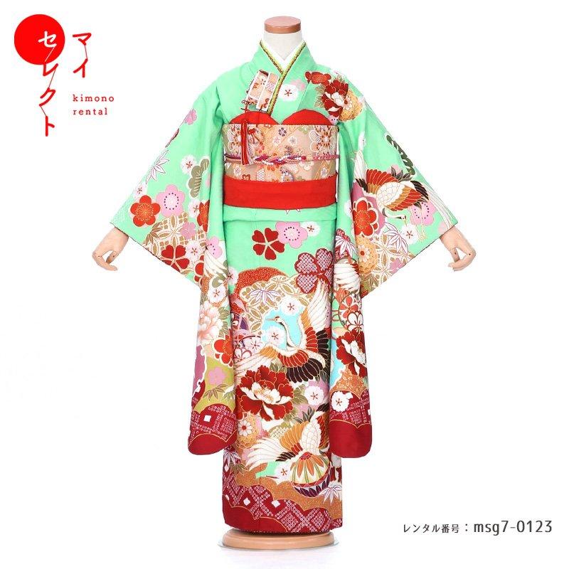 和服, 着物セット  7 msg70123 SHIKIBU ROMAN 753