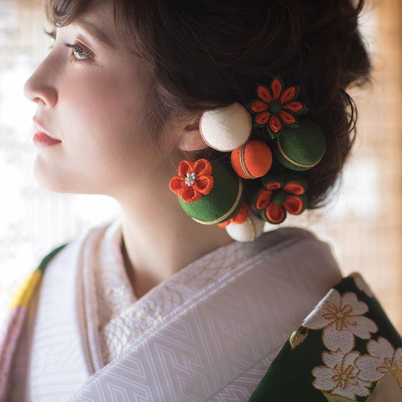 色打掛用髪飾り【レンタル】