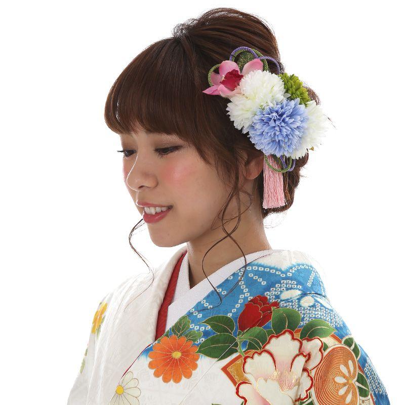 髪飾りレンタル〔mrk_14〕振袖レンタル 成人式 結納【レンタル】