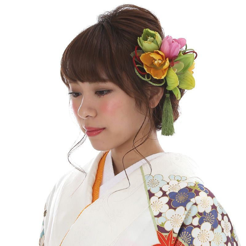 髪飾りレンタル〔mrk_19〕振袖レンタル 成人式 結納【レンタル】