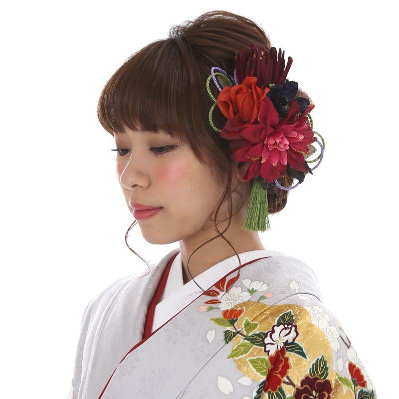 髪飾りレンタル〔mrk_26〕振袖レンタル 成人式 結納【レンタル】