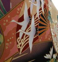 【黒留袖レンタル】mito_383MR-2910波に色紙と扇面正絹フルセット黒留袖結婚式貸衣装お呼ばれ黒|女性和装服装親族レンタル着物小さいサイズ母親黒留め袖着物セット柄着付けセット小物セット帯締め草履バッグセット婚礼【往復送料無料】【京都】