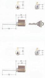 ゴール社V18TX,TTX対応各種シリンダーGCY-1070(GCY-107)