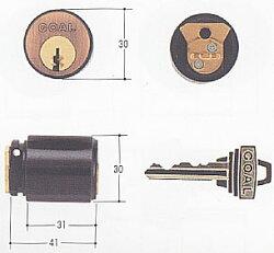 ゴール社V18TX,TTX対応各種シリンダーgcy-650(GCY-65)