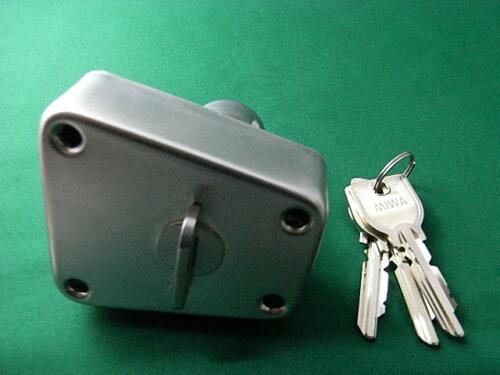 ミワロックU9-NDA補助錠 玄関 ドア 扉 修理 補修 交換 部品 パーツ