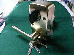 U9RA(85RA)取替用本体セット外開用右勝手ゴールド色