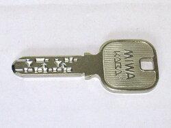 ミワロックJNシリンダー純正子鍵のみ(納期ご注文から約1か月)まずは本数のみご注文下さい。