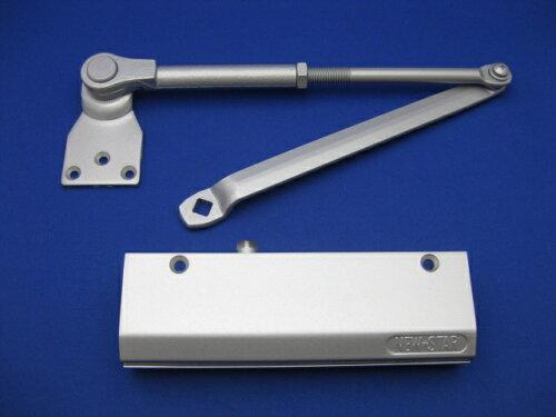 ニュースター ドアクローザードアチェックPS5002旧タイプ(ブラケット3つ穴) PS-5002旧タイプシル...