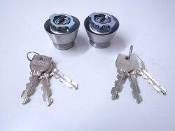 U9LA,DA取替用シリンダーシルバー色2個同一キーセット(MCY-441MCY441・MCY-143MCY143)