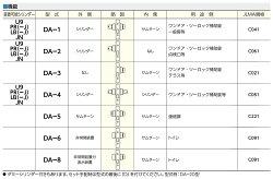 U9DA-1取替用本体セット(シルバー色)