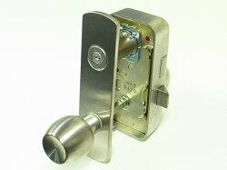 U9RA(85RA)取替用本体セット握玉タイプ外開用左勝手シルバー色