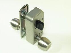 U9RA(85RA)取替用本体セット握り玉タイプ外開用右勝手シルバー色