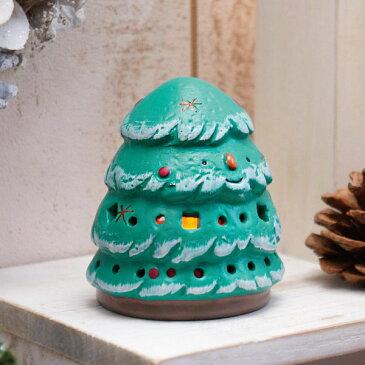 クリスマス飾り ツリー LEDキャンドルライト付き CM866【雑貨 グッズ オーナメント ランタン キャンドルホルダー かわいい】【あす楽】