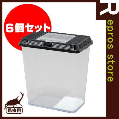 ◆飼育ケース深型 CVF-M ブラック 6個セット アイリスオーヤマ ▼g ペット グッズ 昆虫 虫カゴ