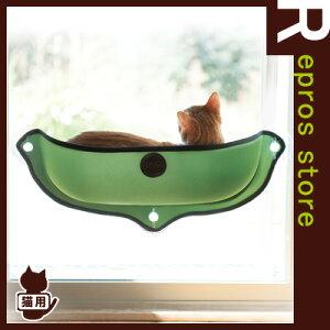EZMountWindowBedウィンドウベッドグリーンK&HManufacturing▽bペットグッズ猫キャットベッド